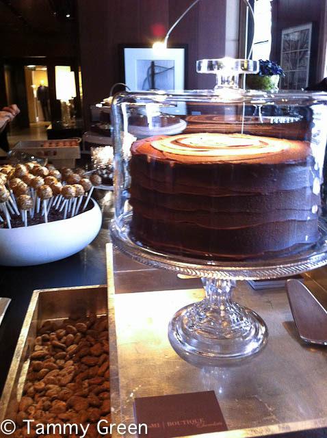 Pop-up Chocolate Bar