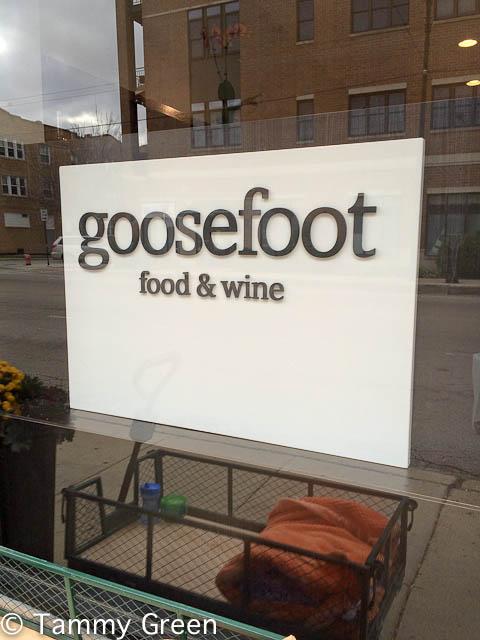 Goosefoot Food & Wine